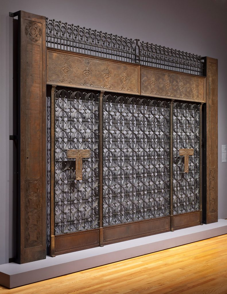 Elevator Screen from the Chicago Stock Exchange by Louis Sullivan