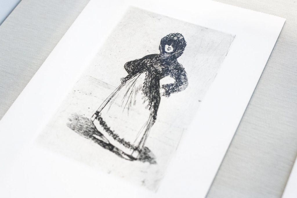 Maja, after Goya