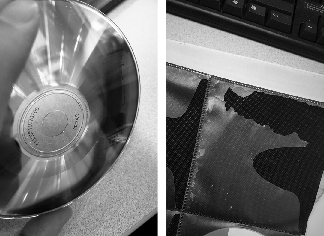 Damaged CDs :(