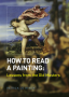 how to read a book painting book cover