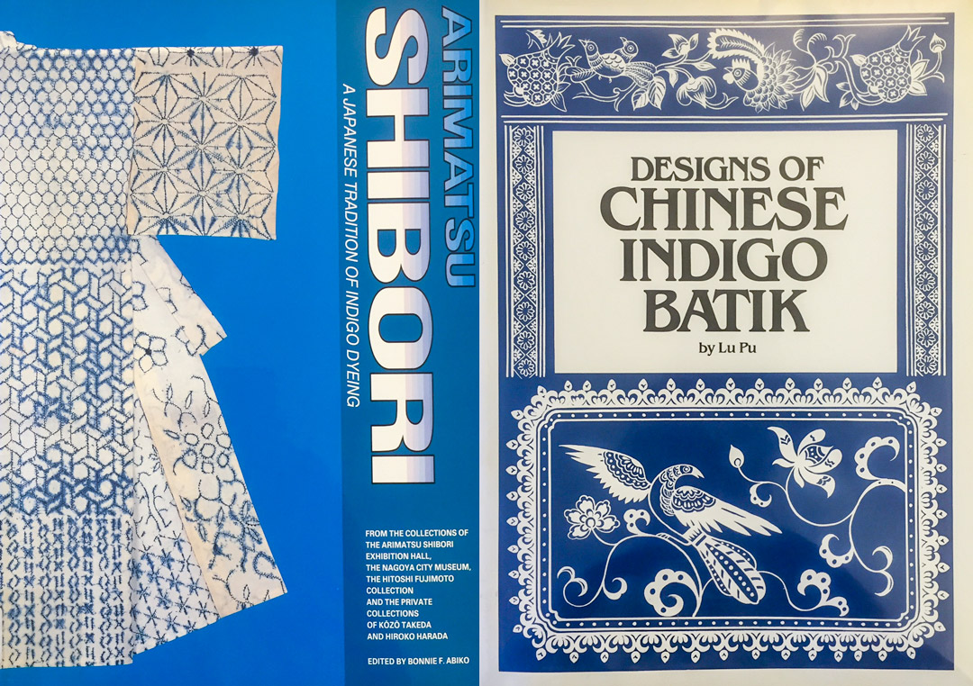 Shibori and Chinese Indigo Batik