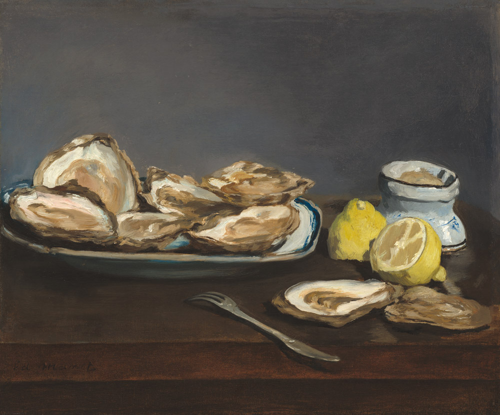 Oysters by Edouard Manet