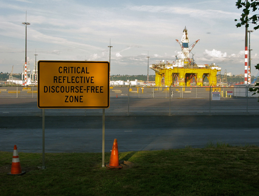 Critical Reflective Discourse Free Zone by Jack Daws