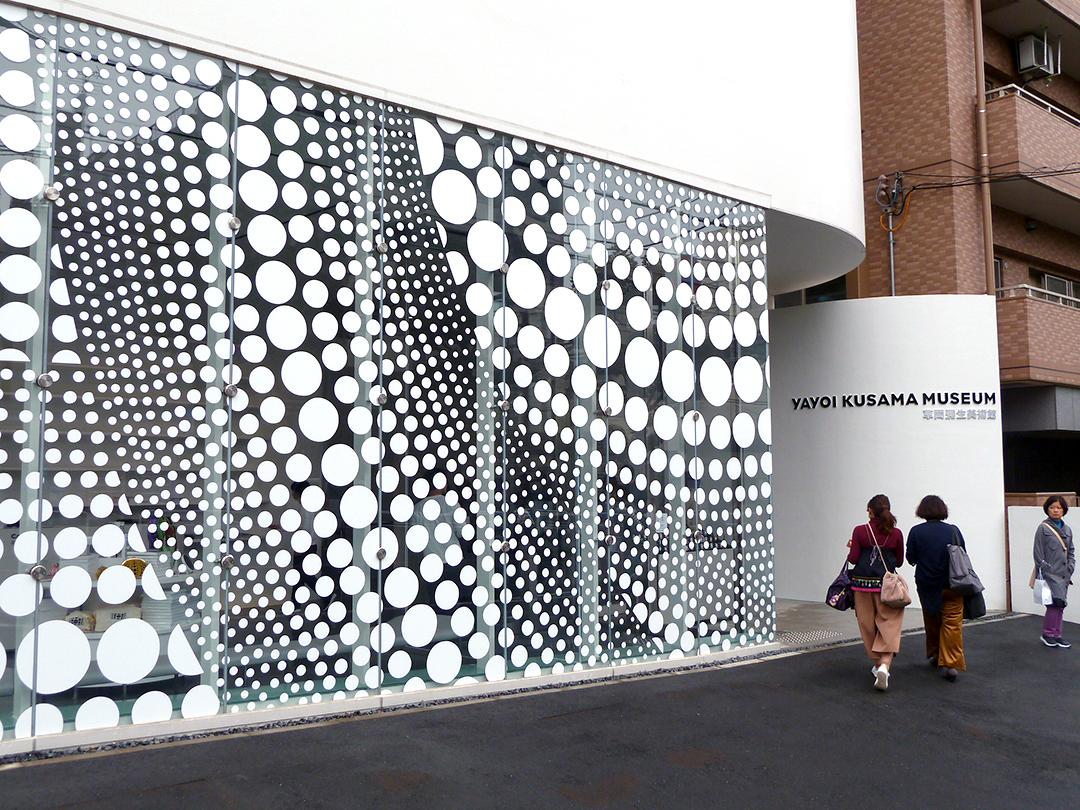 Visiting Tokyo's New Yayoi Kusama Museum