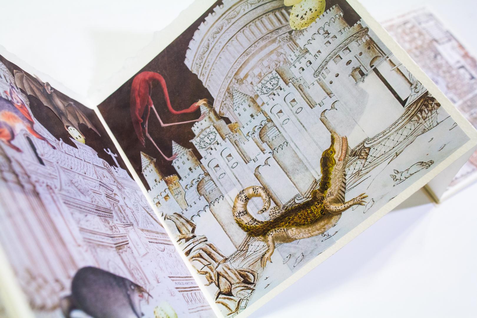 Focus on an Artist's Book: La Cité des Animaux by Lynn Skordal