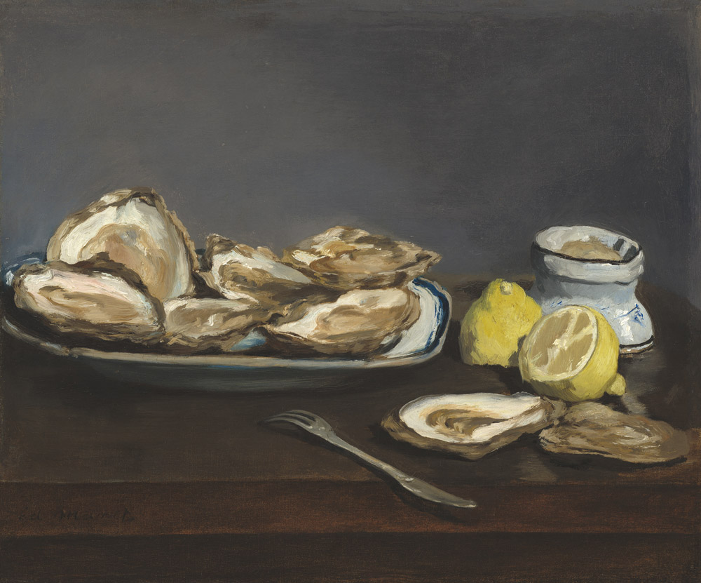 Oysters by Eduoard Manet