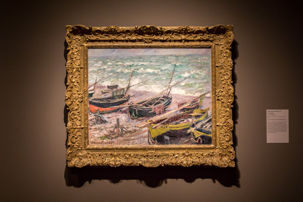 Object of the Week: Fishing Boats at Étretat