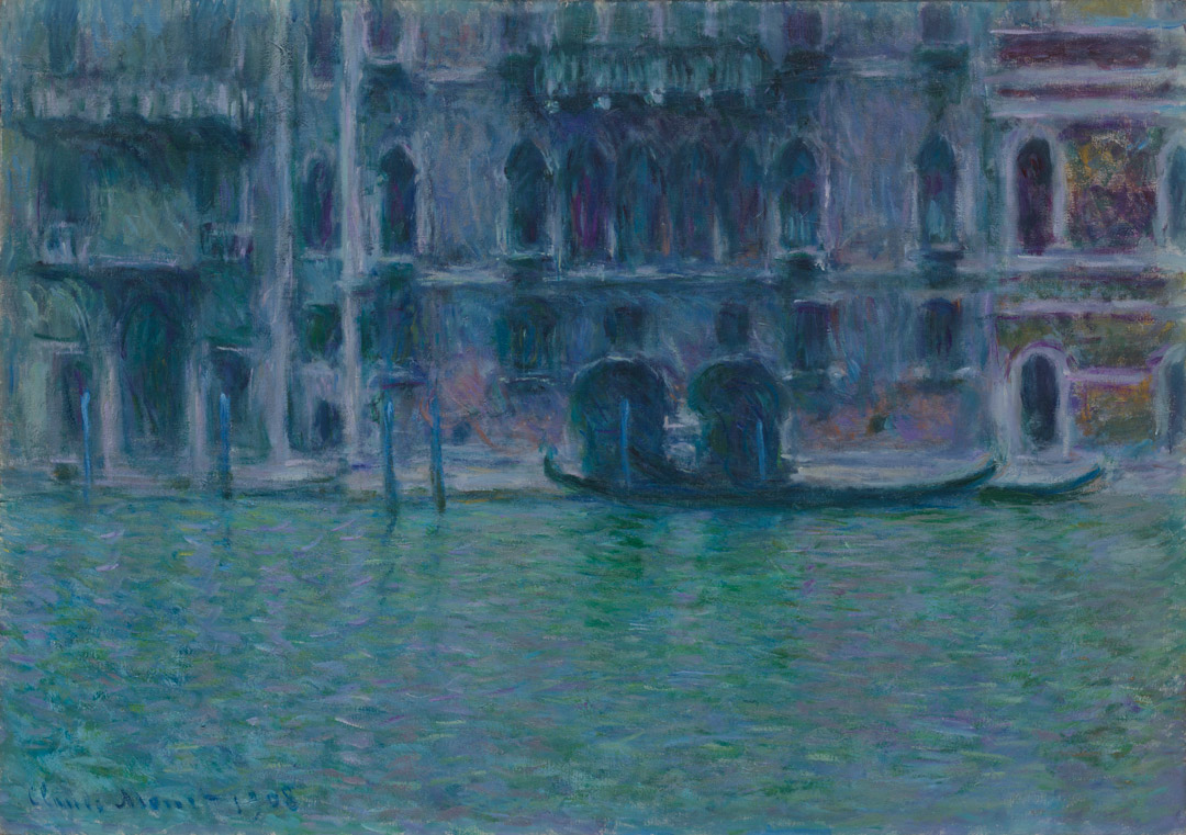 The Palazzo da Mula, Claude Monet, 1908.