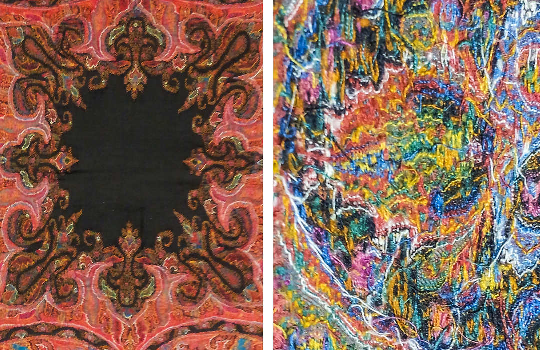 The back of a tapestry can be just as fun to look at at the front!