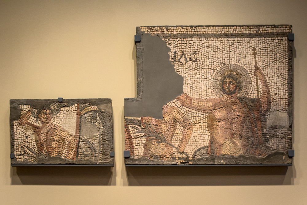 Object of the Week: Mosaic from the House of Menander with Zeus