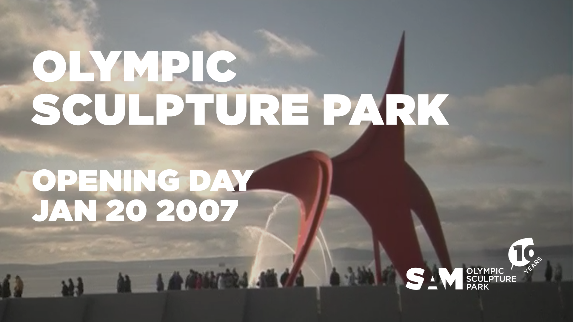 Olympic Sculpture Park: Sculpting a Universe