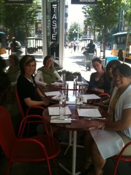 Art for the Stomach: TASTE's Outdoor Cafe