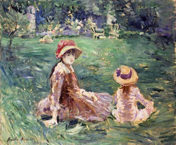 In the Garden at Maurecourt, 1884 Toledo Museum of Art