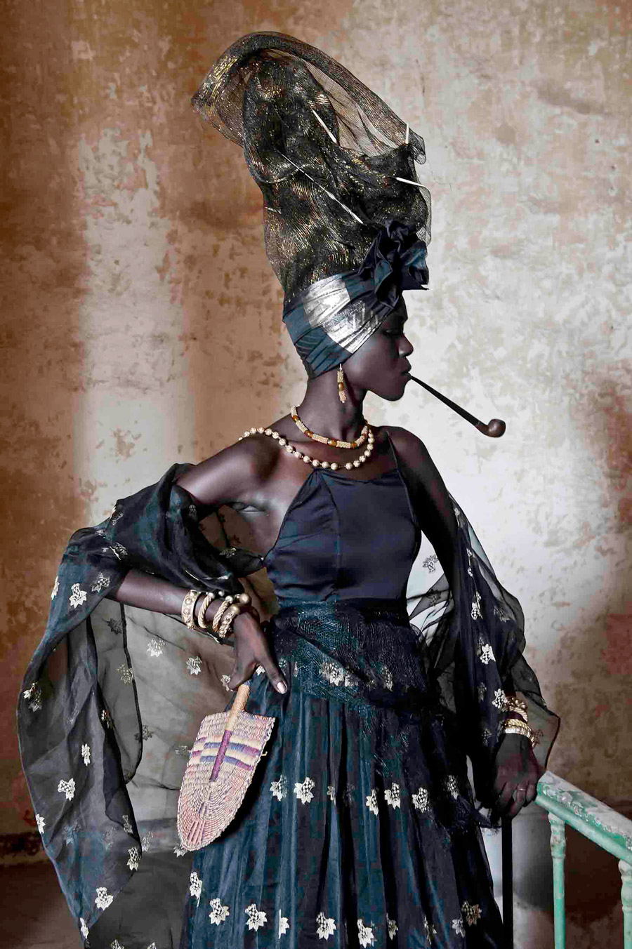 Signare #1, �le de Gor�e, 2011, Fabrice Monteiro (Beninese-Belgian, works in Senegal, born 1972), archival digital print, 47 � x 31 � in., Gift of the African Art Council and African Art Acquisition Fund, 2013.14, � Fabrice Monteiro. Not currently on view.