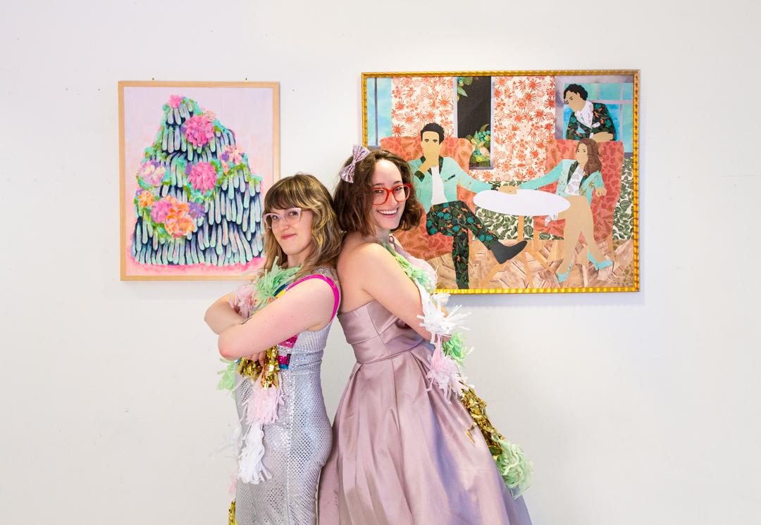 Twice as Nice: SAM Staff Artists Tie FTW