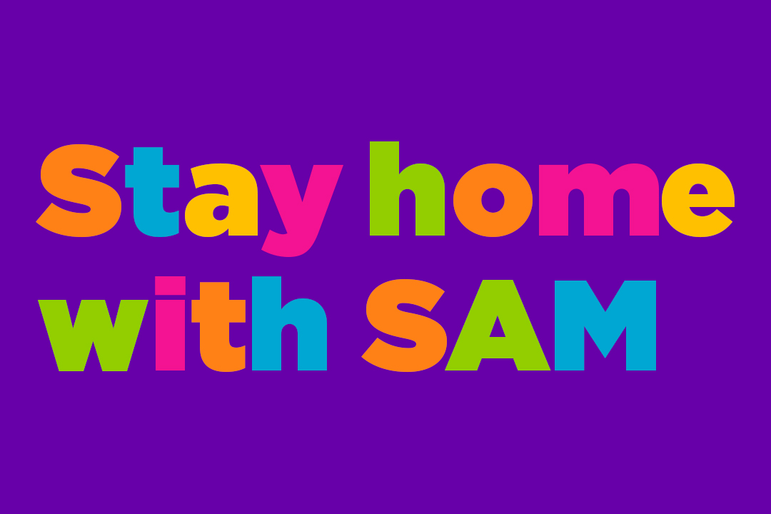 Muse/News: Stay Home with SAM, couch sketches, and penguins on parade