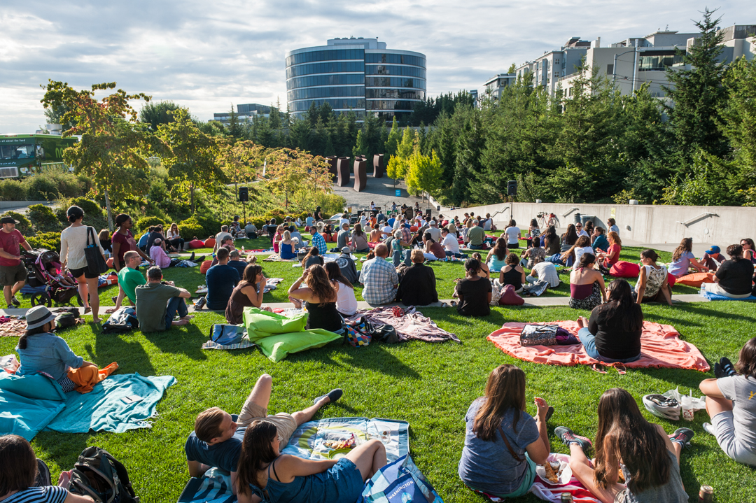 Summer at SAM Celebrates 10 Years of the Olympic Sculpture Park