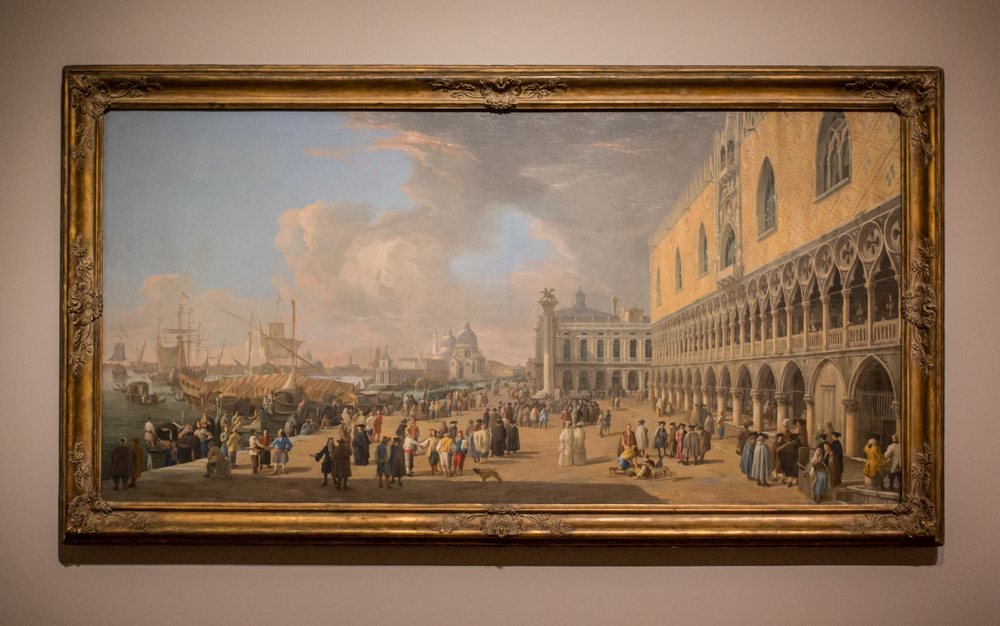Object of the Week: The Doge's Palace and the Grand Canal, Venice