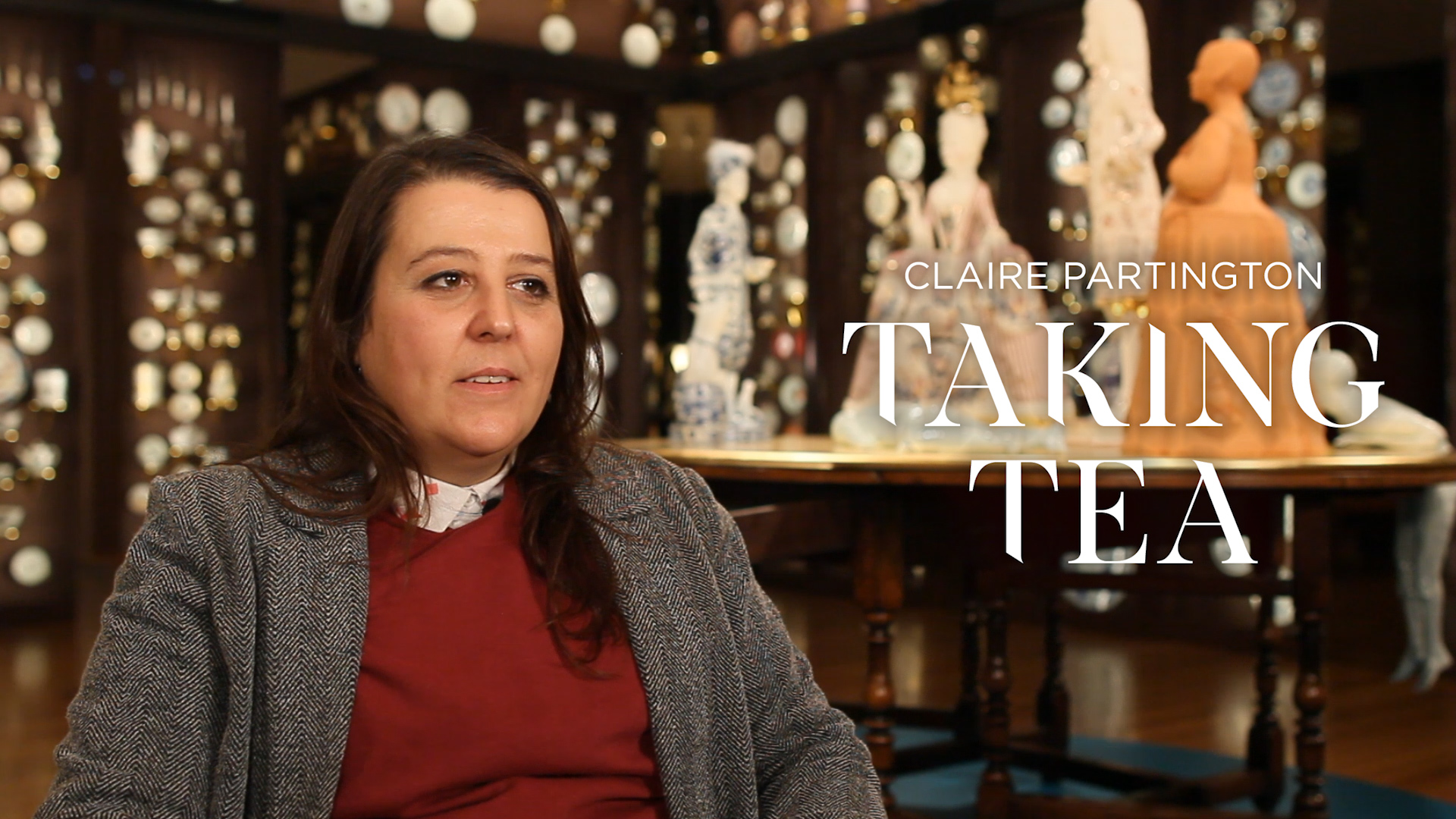 New Perspectives on Porcelain in Claire Partington: Taking Tea
