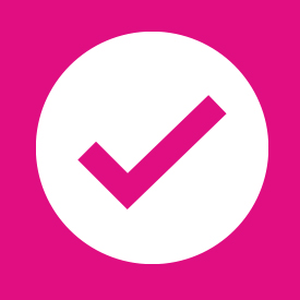 Icon of a check mark
