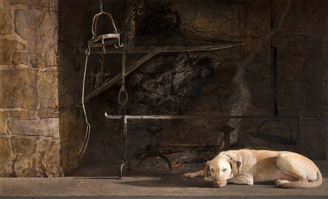 Andrew Wyeth's Dog Life
